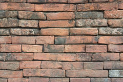 Old brick wall. Background of brick wall texture Royalty Free Stock Images