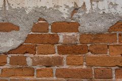 Old brick wall. Background of old brick wall texture Stock Photo