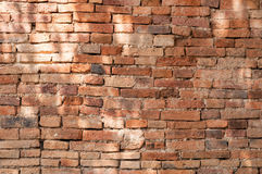 Old brick wall background texture,background material of industry building construction Royalty Free Stock Photo