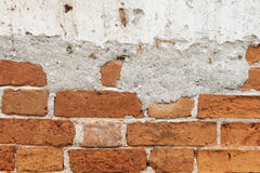 Old brick wall background or texture brick wall.  stock photos