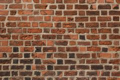 Old brick wall. Background texture.  royalty free stock images