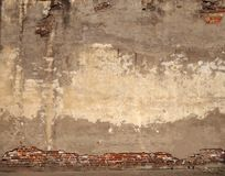 Old brick wall background urban texture stock photography