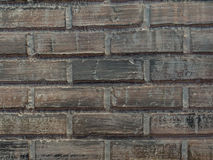 Old brick wall. Background of vintage old  brick wall Stock Images
