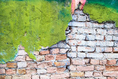 Old brick wall background Royalty Free Stock Image