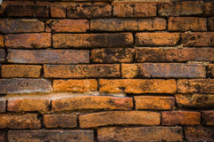 Old brick wall backgrounds Stock Photos