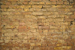 Old brick wall. It can be used as background. Royalty Free Stock Photos