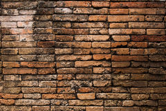 Old brick wall at chiangmai Stock Photos