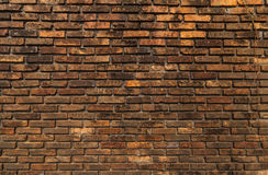 Old brick wall. Old brick wall close-up Royalty Free Stock Photo