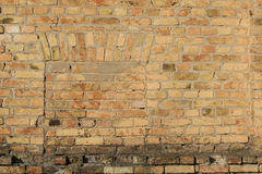 Old brick wall close up. Stock Photography