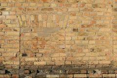 Old brick wall close up. Stock Photography