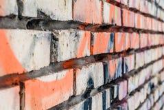 Old brick wall close up Royalty Free Stock Image