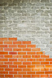 Old brick wall cracked abstract background Royalty Free Stock Photos