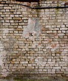 Old brick wall with cracks Royalty Free Stock Photography