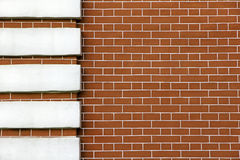 Old brick wall detail. Background. Stock Image