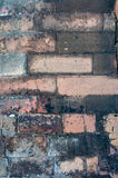 Old brick wall detail Stock Images