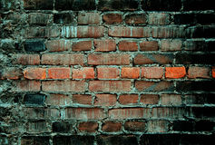 Old brick wall distressed. Background Royalty Free Stock Image