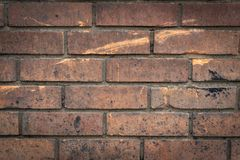 An Old Brick Wall From A Factory royalty free stock images