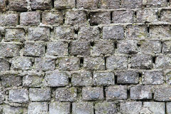 Old brick wall of gray Stock Image