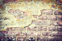 Old brick wall. Grunge background Royalty Free Stock Photo