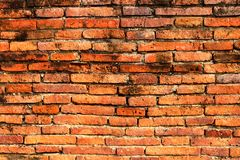 Old brick wall grunge texture background stock photos