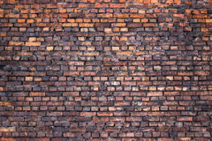 Old brick wall, grunge texture for background, urban style royalty free stock photos