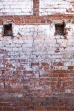 Old brick wall of the house. Stock Images