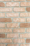 Old brick wall inlaid regularly Stock Photography
