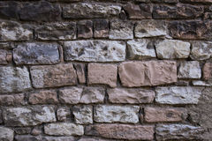 Old brick wall in Italy Royalty Free Stock Photos