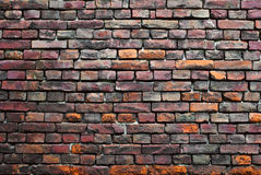 Old Brick Wall. Old wall made from bricks stock images