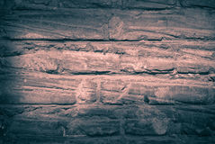 Old brick wall monochrome Stock Photography