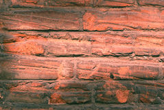Old brick wall monochrome Stock Photos