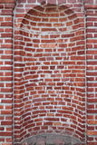 Old Brick Wall Niche Royalty Free Stock Photography