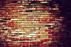 Old brick wall old. Old brick wall abstract architecture background Royalty Free Stock Photos