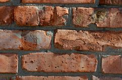 Old brick wall. As abstract background Royalty Free Stock Images