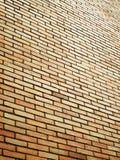 Old brick wall orange Royalty Free Stock Image