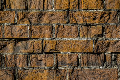Old brick wall pattern closeup Stock Photo