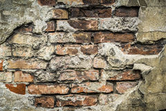 Old brick wall pattern closeup Stock Image