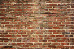 Old brick wall pattern texture background. Stock Photos