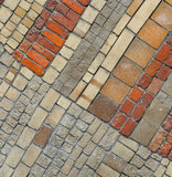 Old brick wall, perfect grunge background Royalty Free Stock Photos