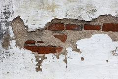Old Brick Wall. A rundown brick wall with a grungey look Royalty Free Stock Photos