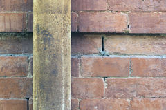 Old brick wall and rusty pipe Stock Photography