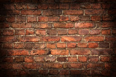Old brick wall texture Royalty Free Stock Photos
