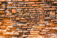 Old brick wall texture. Background Royalty Free Stock Photography