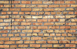 Old brick wall texture. Background old brick wall texture Royalty Free Stock Photo