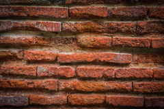 Old brick wall. For texture or background,back and white Stock Photos
