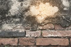 Old brick wall texture and background. Royalty Free Stock Image