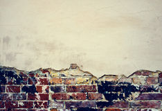 Old brick wall texture background Stock Images