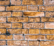 Old brick wall texture background. Old red brick masonry wall texture background Stock Photography