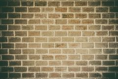 Old brick wall texture grunge background to interior design royalty free stock images