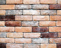 Old brick wall texture. Old red brick wall background Stock Photography